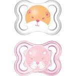 Mam Schnuller Air Silikon Gr. 1 rosa 2er Pack