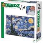 SES Creative Beedz Art - Bügelperlen Van Gogh Sternennacht 7.000 Perlen