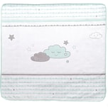 Roba Babydecke Happy Cloud mint/ taupe 80 x 80 cm