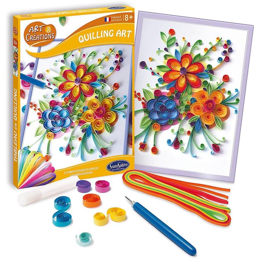 SentoSphere Quilling Art - Blumen