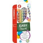 STABILO Buntstifte EASYcolors Rechtshänder 6 Farben