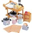 Epoch Traumwiesen Sylvanian Families Küchen-Einrichtungs-Set