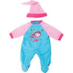 BAYER Kleider für Puppen 33-38 cm: 2-tlg. - Strampler Mütze blaurosa
