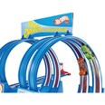 Mattel Exklusiv Hot Wheels Doppel-Looping Wettrennen Autospielset inkl. 2 Fahrzeuge