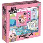 Lisciani Na Na Na Surprise - Fashion Diva umfangreiches Bastel- und Malset für Modefans im Koffer