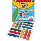 BIC Kids Plastidecor Triangle Wachsmalkreide 144 Farben