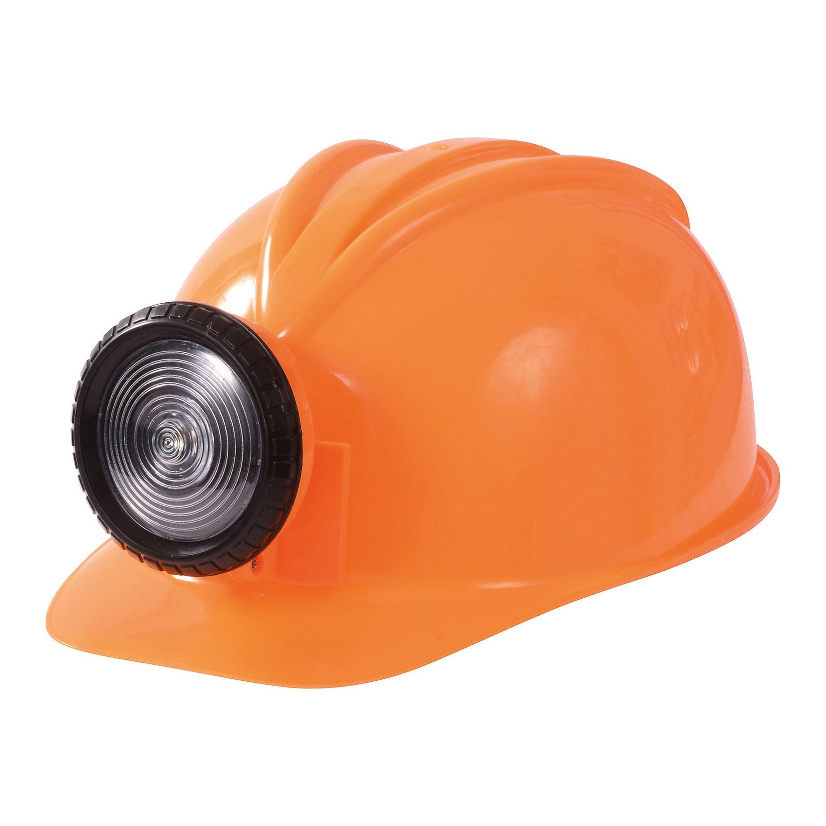 Eduplay Bauhelm mit Lampe orange