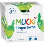 C. Kreul Mucki Fingerfarbe 4 x 150 ml