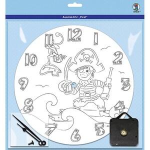 Ursus Ausmal-Uhr Pirat