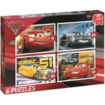 Jumbo 4in1 Puzzle Cars 3 12/20/30/36 Teile