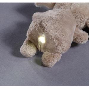NICI LED-Plüsch-Handtaschenlicht Elefant El-Frido 9cm 44799