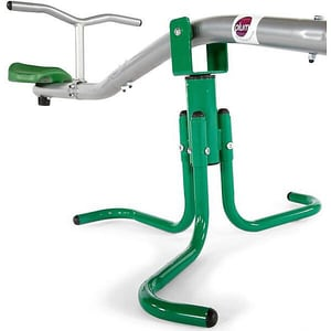 Plum Metallwippe grün-silber