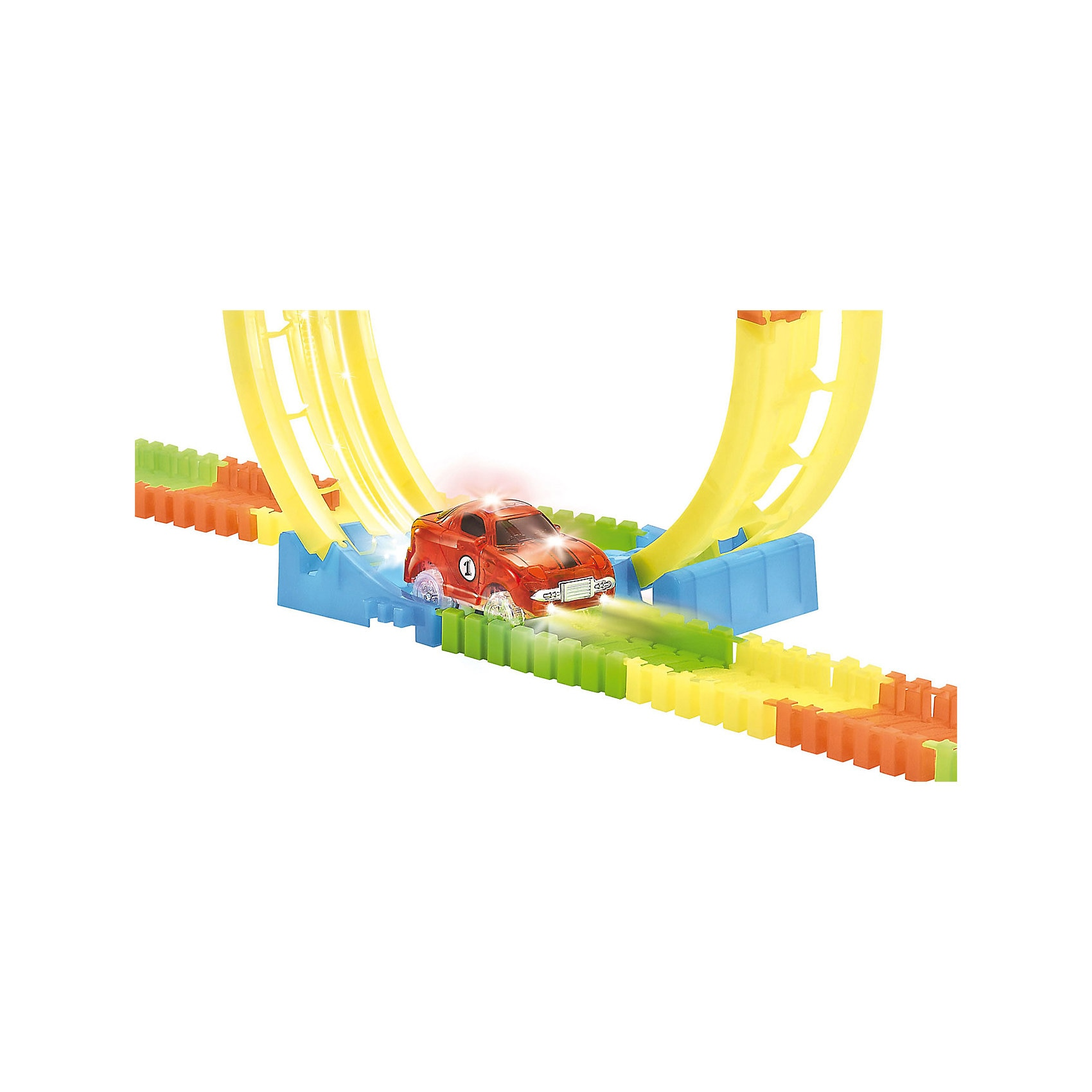 Amewi Magic Traxx Racebahn Looping-Set mit 99 Teilen