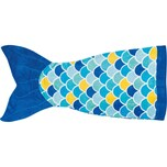 Fin Fun Cuddle Tails Meerjungfrauendecke Wave Blue blau S