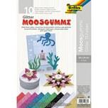 Folia Glitter-Moosgummi 20 X 29 cm 10 Blatt