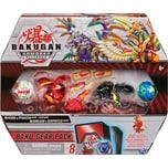 Spin Master Bakugan Baku-Gear Pack mit 4 Armored Alliance Bakugan Ultra Sabra x Pyravian Ultra Howlk