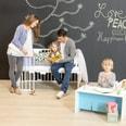 Tobi Kinderbett Erweiterung für babybay original weiß lackiert