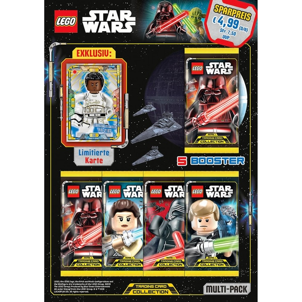 Top Media LEGO STAR WARS Trading Cards MULTI-PACK