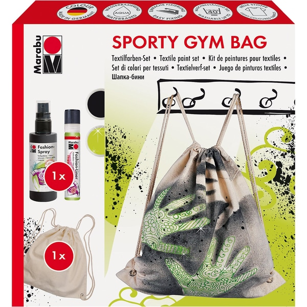 Marabu Textilgestaltungsset Sportbeutel