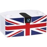 bigben CD-Player mit USB + Radio CD57 UK Fahne weiß