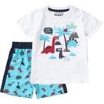 Lemon Beret Baby Set T-Shirt Shorts für Jungen Dino