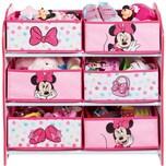 WORLDS APART 6-Boxen Regal Minnie Mouse rosaweiß