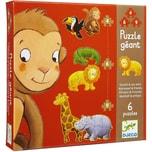 DJECO Riesen-Puzzle Dschungel 36 Teile