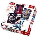 Trefl 4in1 Puzzle 54/ 80/ 2x104 Teile Star Wars Episode VIII