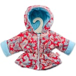 Heless Anorak Happy Gr. 28-35 cm Puppenkleidung
