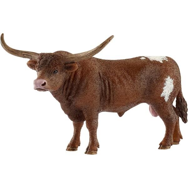 Schleich 13866 Farm World Texas Longhorn Bulle