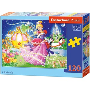 Castorland Puzzle 120 Teile Aschenputtel