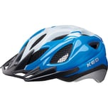 KED Helmsysteme Fahrradhelm Tronus L blue pearl