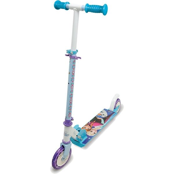 Smoby Die Eiskönigin Scooter mit Bremse klappbar türkis
