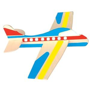Playbox Holz-Modellflugzeuge zum Bemalen 12 Stück