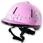 Red Horse Kinder Sicherheitsreithelm Rider Pink