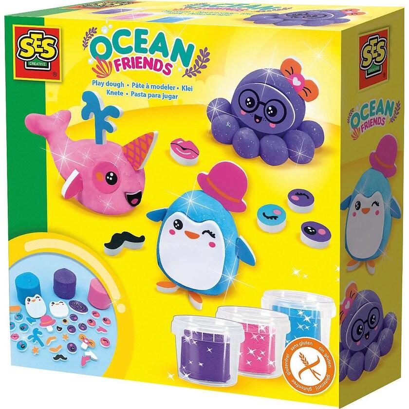 Ses Creative Knetset Lustige Ozeanfreunde