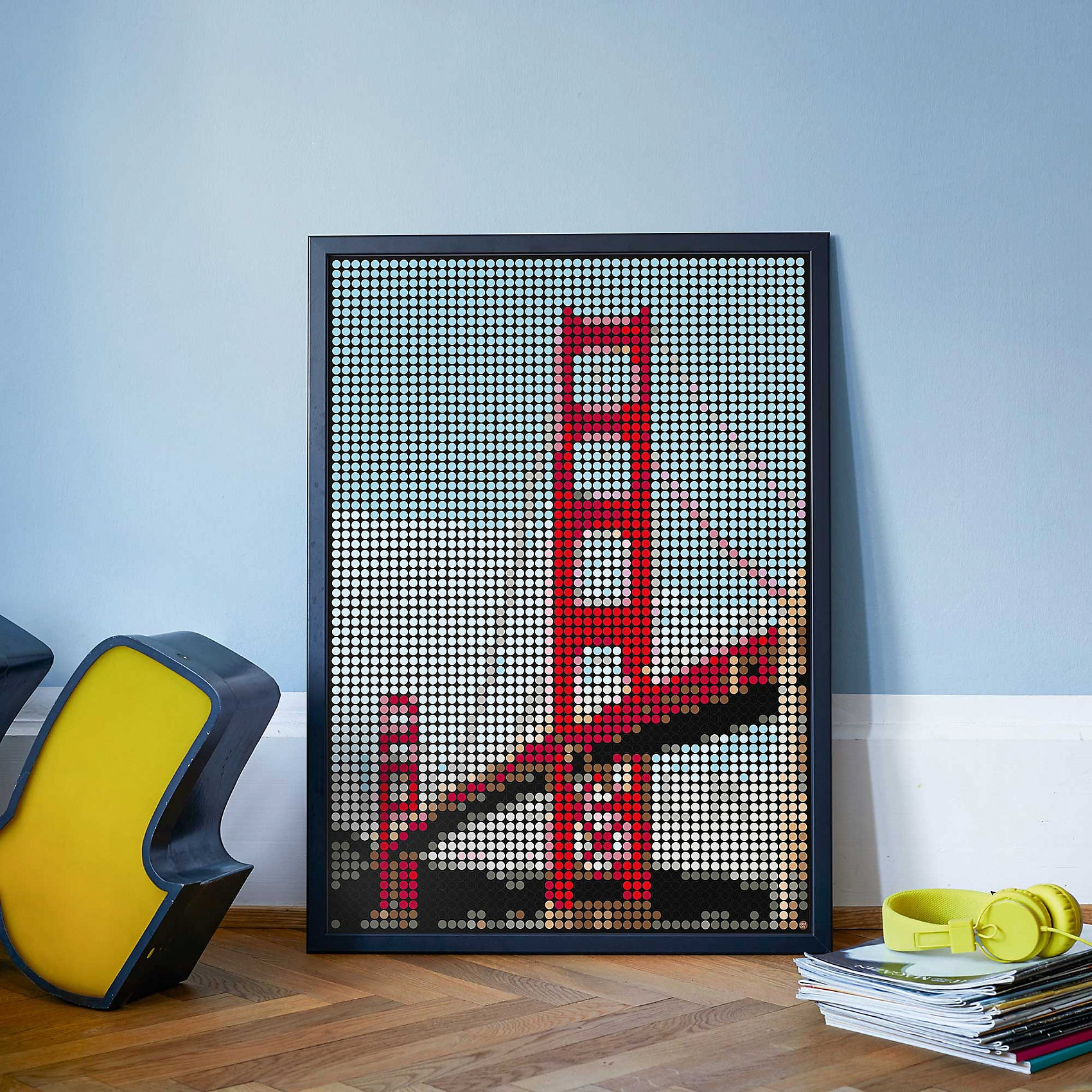 dot on dot on art XL – golden gate 50 x 70 cm