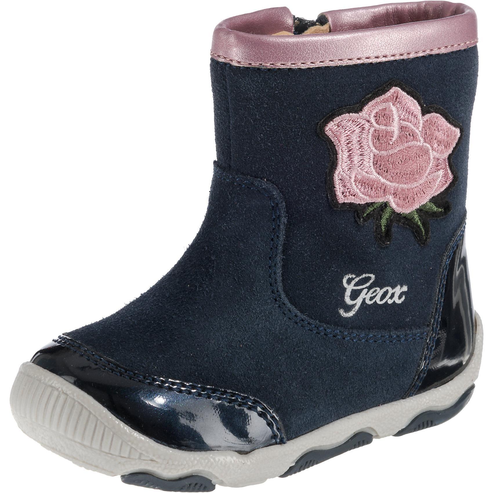 Geox Baby Stiefel New Balu für Mädchen Blume