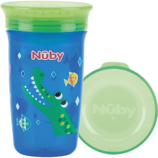 Nuby 360° Trinklernbecher WONDER CUP 300 ml Blue
