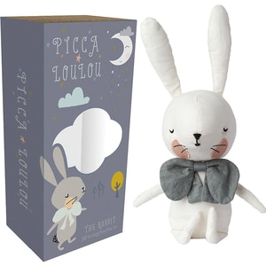 Picca Loulou Stofftier Picca Loulou Hase Weiß 18cm