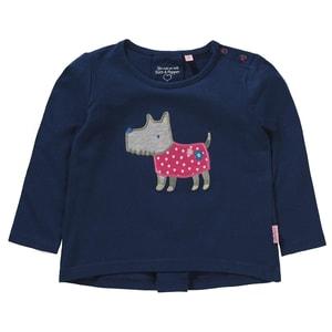 Salt and Pepper Baby Langarmshirt mit Kellerfalte für Mädchen Organic Cotton