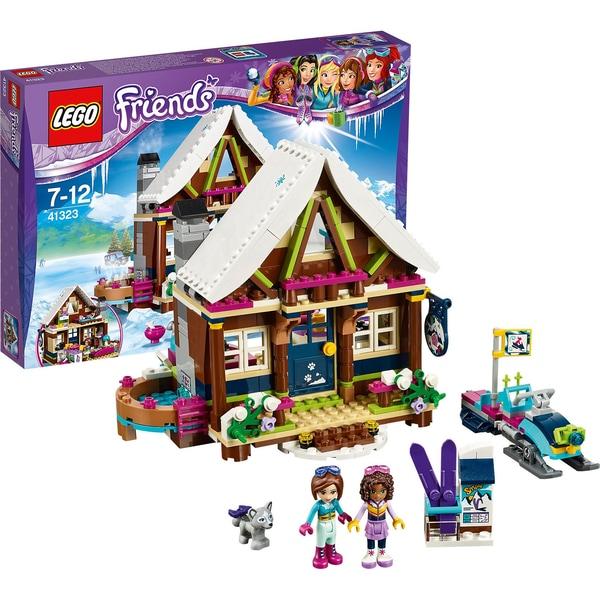 LEGO 41323 Friends Chalet im Wintersportort