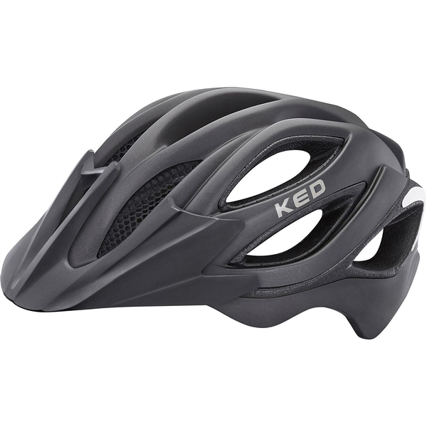 KED Helmsysteme Fahrradhelm Paganini Visor schwarz matt