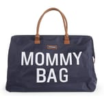 Childhome Wickeltasche Mommy Bag blauweiß