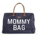 Childhome Wickeltasche Mommy Bag blauweiß