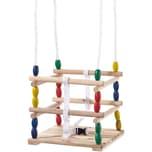 TWIPSOLINO Holz-Gitterschaukel
