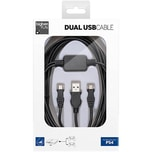 bigben PS4 Y-Ladekabel für Controller USBMicro USB 3m
