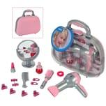 Klein Spielzeug Braun Frisierkoffer mit Zubehör