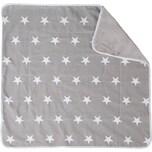Roba Babydecke Little Star grau 80 x 80 cm