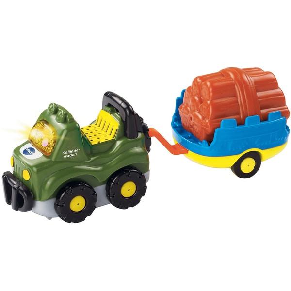 Vtech Tut Tut Baby Flitzer Geländewagen und Anhänger
